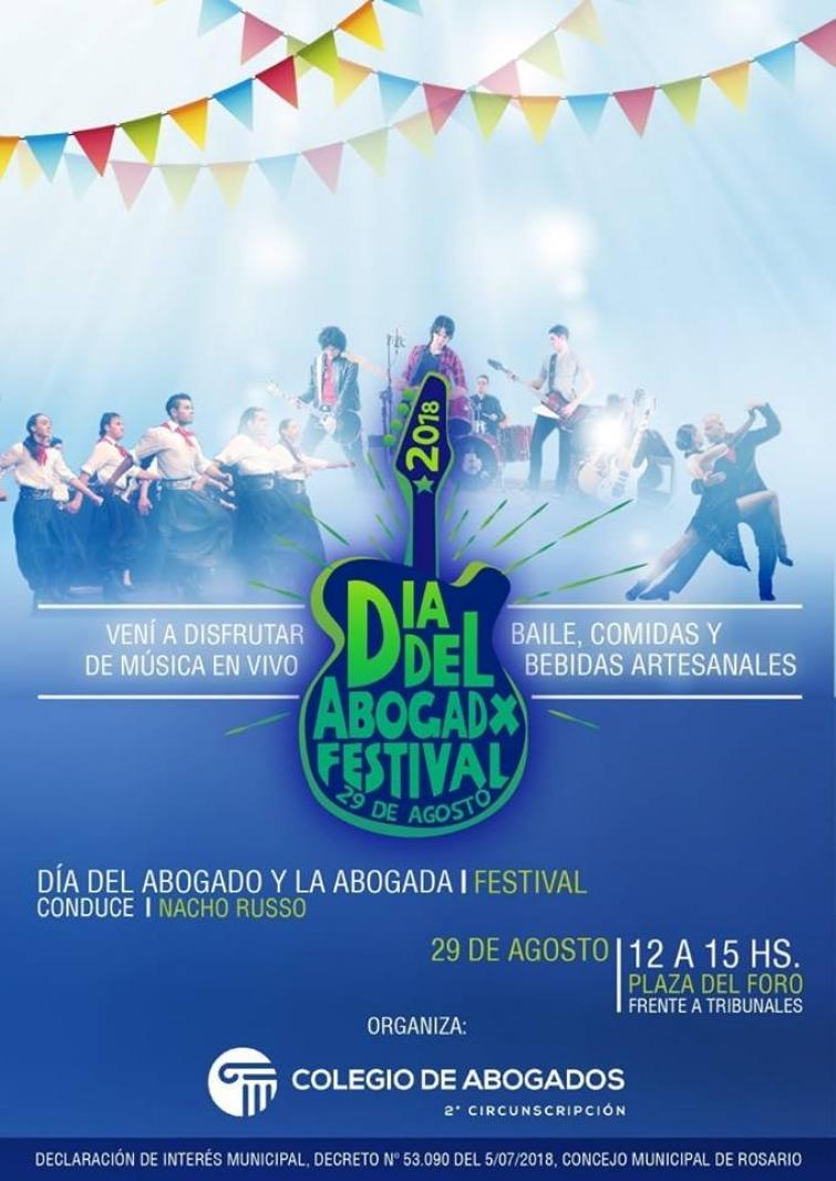 Dia del Abogadx - Dia del Abogado y la Abogada - Dia del Abogado. Festival y cena