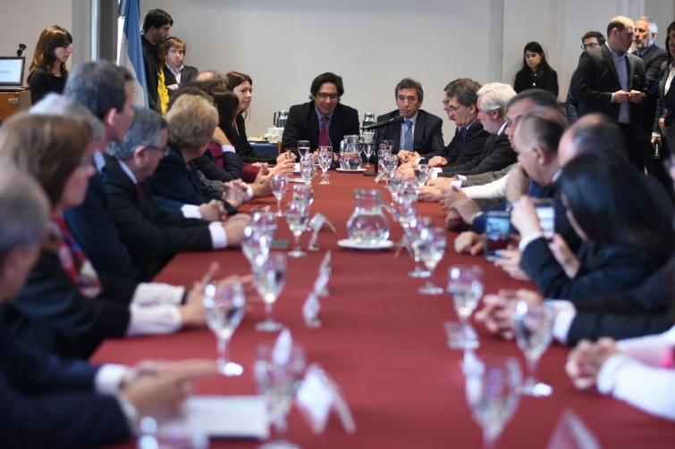 El Fiscal General participó de la presentación del Sistema de Datos de la Justicia Argentina