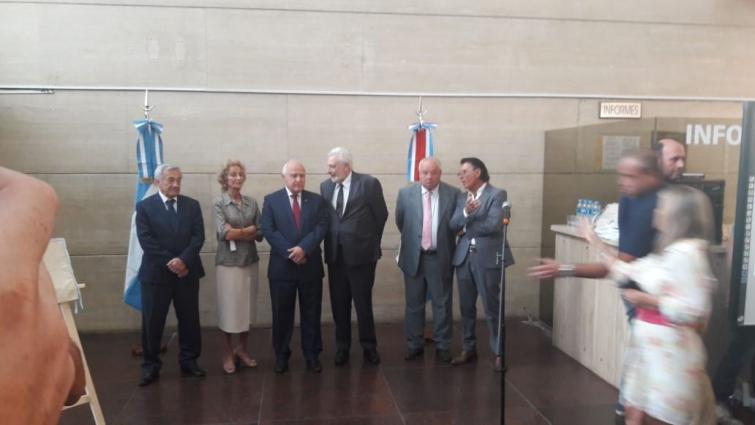 Inauguraron sistema de climatización para los Tribunales Provinciales de Rosario.