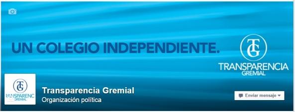 La lista Transparencia Gremial desafía a los partidos políticos