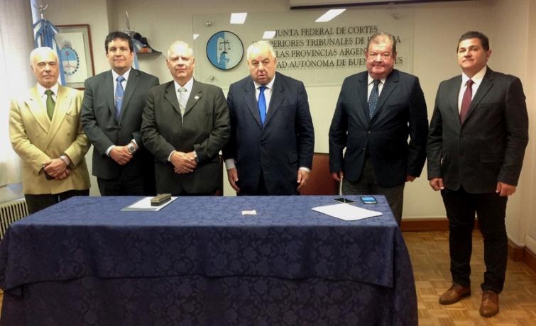 Ministros de Cortes de todo el país se darán cita en Santa Fe para la última reunión del año de la Junta Federal