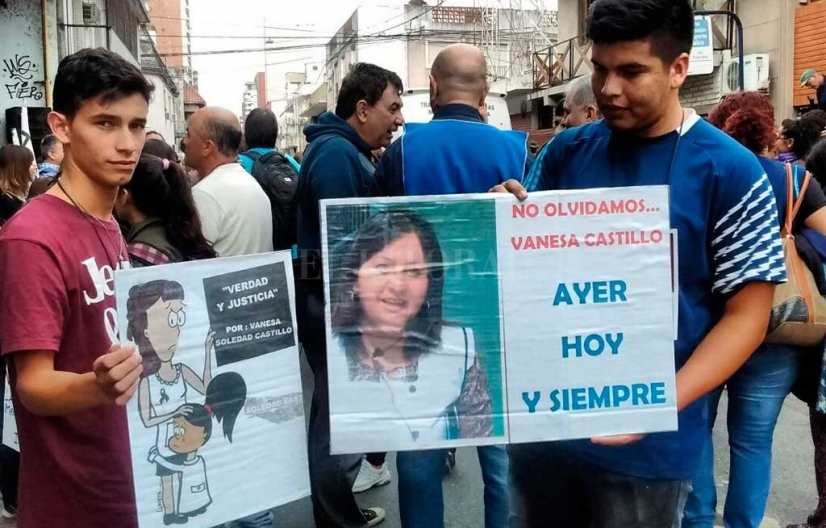Comenzó el juicio por la docente Vanesa Castillo