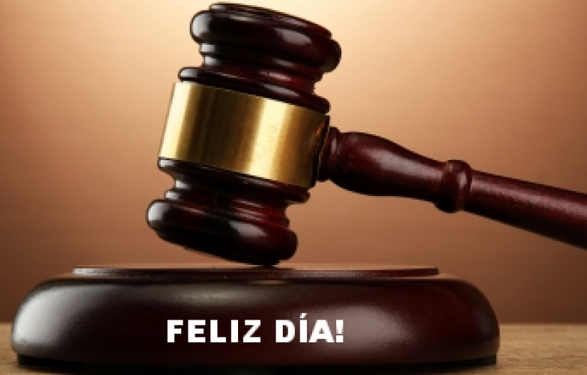 Feliz día a todos los Magistrados y Funcionarios del Poder Judicial