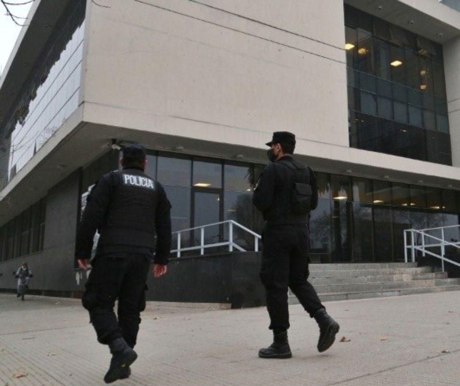 Los alrededores del Centro de Justicia Penal: una fortaleza a 20 días del juicio a Los Monos