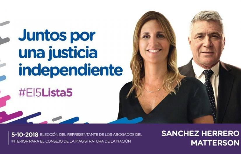 Marina Sanchez Herrero renunció al Consejo de la Magistratura de la Nación