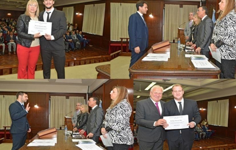 Nuevos profesionales juraron en el Auditorio de la Corte