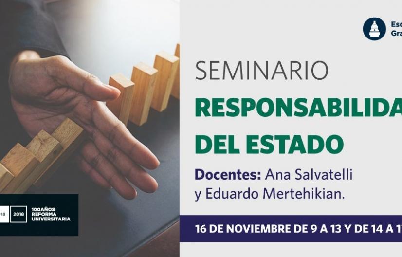 """""""Seminario Responsabilidad del Estado"""""""