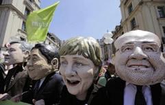 Más de 30.000 personas protestaron en Munich contra la Cumbre del G7