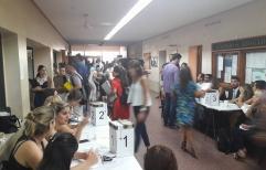 AHORA! #elecciones  Elecciones Colegio de Abogados de Rosario.