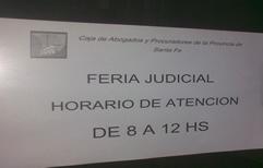 La Caja de Jubilaciones de Abogados también redujo su horario de atención en los días de Feria Judicial.