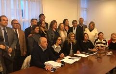 Casi dos mil abogados, juristas y académicos, firmaron el martes un petitorio para solicitarle a los senadores que voten en contra de la legalización del aborto