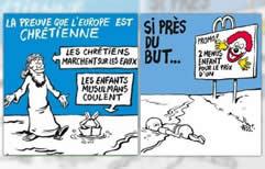 Charlie Hebdo despertó polémica y repudio por sus caricaturas del niño sirio ahogado