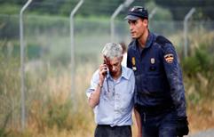 Choque de tren en España. Prueba clave. Se dio a conocer la llamada del conductor después del accidente.