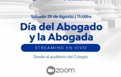 El Colegio de Abogados de Rosario festeja el día del abogado en un novedoso formato