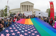 La Corte Suprema de EEUU falló a favor de la legalización del matrimonio igualitario