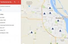 CTD Mira donde están los Centros Territoriales de Denuncias habilitados en la ciudad de Rosario