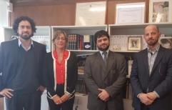 La Defensora Provincial se reunió con el Delegado Regional de la Procuración Penitenciaria de la Nación
