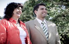 Elecciones. La Dra Sandra Marenghini y el Dr Jorge Ripani, presentaron el plan de recuperación de la Caja Forense.