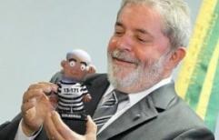 El expresidente de Brasil Lula da Silva, condenado a 9 años y medio de prisión por corrupción y lavado de dinero