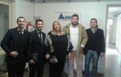 La fiscal de Cañada de Gómez se reunió con funcionarios del ministerio de Seguridad y de la municipalidad de Las Parejas