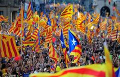 La Justicia española suspendió la declaración secesionista de Cataluña