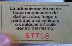 La legislatura de Buenos Aires determinó que playas de estacionamiento vehicular de carácter público o privadas son responsabilidad por los daños, robos o hurtos