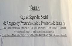 Malestar en los abogados del Foro Rosarino debido a las intimaciones cursadas por el Directorio de la Caja de Jubilaciones bajo pena de multa