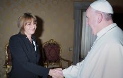 El Papa recibio a la Procuradora General de la Nación Argentina