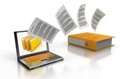 Pasaron a soporte digital escrituras de la provincia