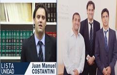 IN.PRESENTABLE – El Pte. de la Caja Forense Dr. Eugenio Malaponte autorizó a presentarse como candidato de la lista UNIDAD a un Director del Colegio de Abogados en ejercicio, a pesar de no figurar en el padrón.