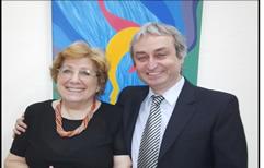 Presentación: la Dra. Araceli Díaz y el Dr. Gustavo Nadalini candidatos a Presidente y Vice del Colegio de Abogados