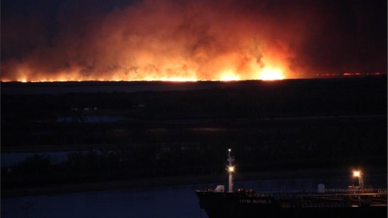 Santa Fe: procesaron a siete personas por las quemas de pastizales en las islas