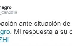 """El secretario general de la OEA Luis Almagro, reclama la """"inmediata liberación"""" de Milagro Sala. Descargar carta"""